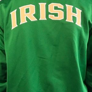 Vintage Fighting Irish Adidas Classic Track Jacket